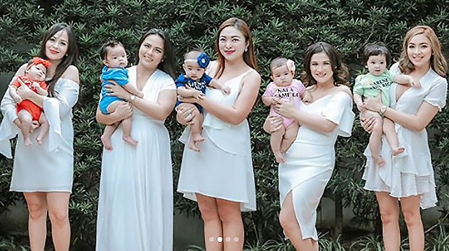 LOOK: #BumpSquad Moms Reunite--This Time With Their Babies!