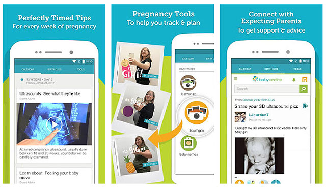 11 Highly Rated Pregnancy Apps You Can Download Right Now SP