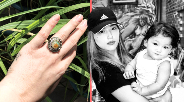 Kylie Padilla's New Ring Contains Her Breast Milk and More