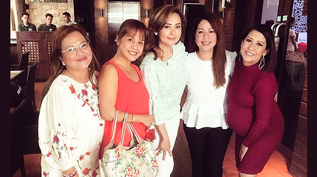 'Ang TV' Ladies Reunite at Jolina Magdangal's Baby Shower
