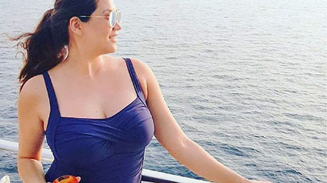 Cristalle Belo-Pitt is All About Embracing Her New Curves