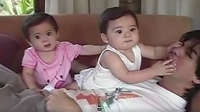 Aga and Charlene Share Never-Before-Seen Home Videos of the Twins