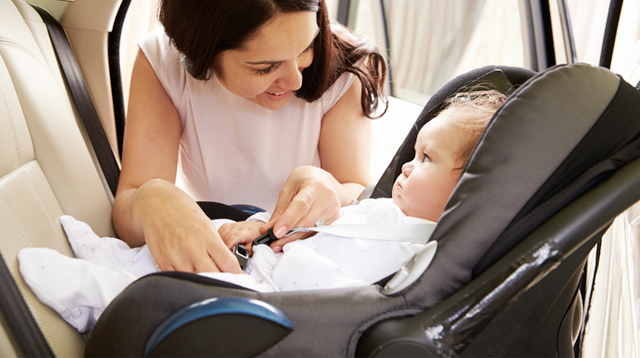 Study Shows Rear-Facing Car Seat Is Safest When Car Is Hit Even From Behind