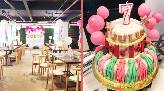 7th Birthday Party Directory: Check Out the Venue and Cake!