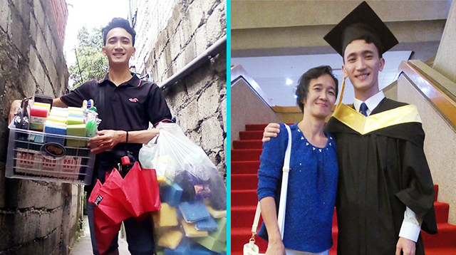 Vendor Thanks 'Mga Suki' for Helping Him Become First College Grad in His Family