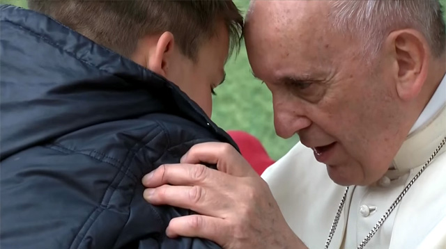 A Boy Asks Pope Francis if His Dad, Who Did Not Believe in God, Is in Heaven