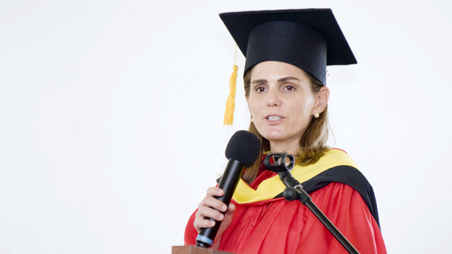 Lizzie Zobel de Ayala Addresses New Graduates: Make The Right Choices in Life