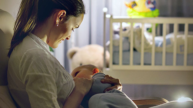 You Don't Need to Give Up Nursing to Train Baby to Sleep Through the Night
