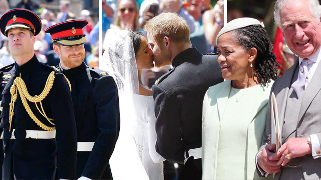 7 Key Family Moments at the Royal Wedding