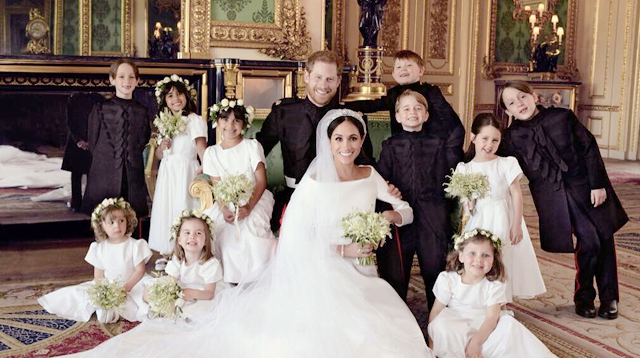 Here's the Secret Why the Kids Were So Well-Behaved at the Royal Wedding