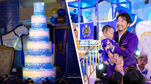 Take a Look Inside a P2-Million First Birthday Party With a Royal Theme!