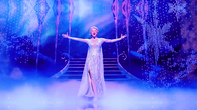 Don't Blink or You'll Miss the Magical Costume Change in Frozen the Broadway Musical