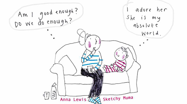 These 9 Motherhood Sketches Will Pick You Up When You're Having a Bad Day