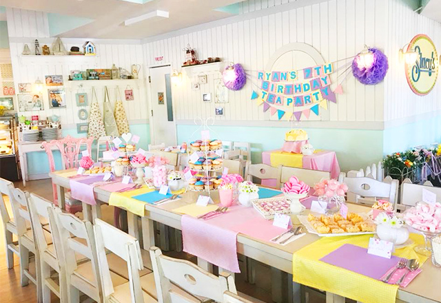 9 Party Venues With Good Food for a Small Baptism Reception