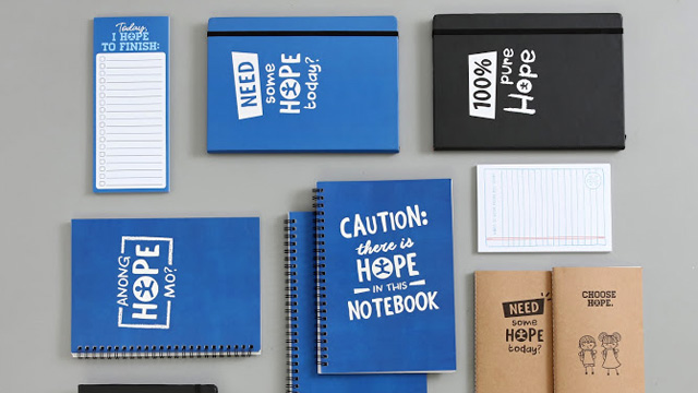 These Notebooks Offer Kids Hope