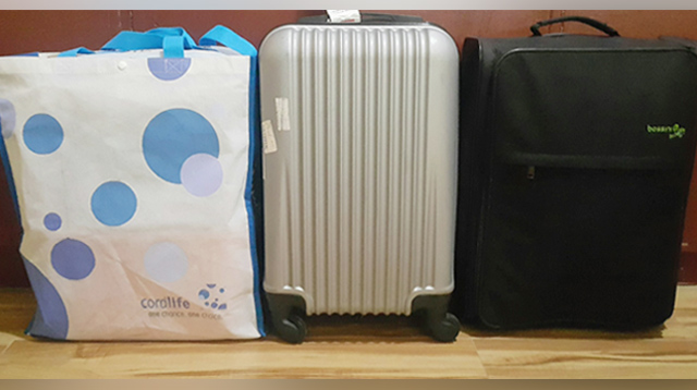 This Preggo Packed Her Childbirth Essentials in Two Suitcases and a Bag!