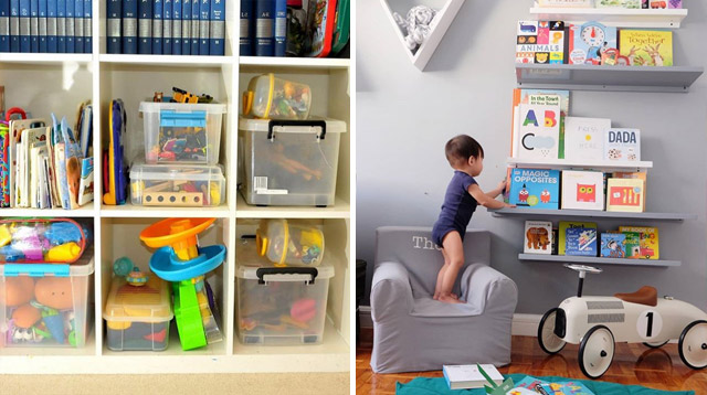 5 Simple Ways to Keep Your Kids' Toys From Taking Over the House