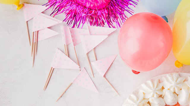 9 Do-It-Yourself Party Decorations, Giveaways, Souvenirs, and Activities