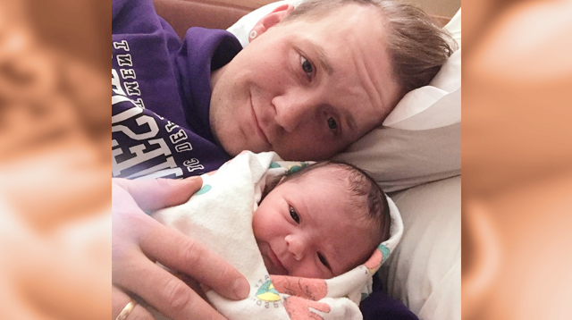 Dad 'Breastfeeds' His Newborn Baby After Wife Was Unable to Do It