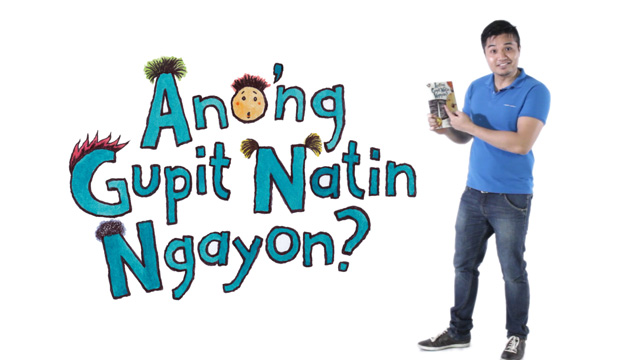 How to Read Aloud To Your Kids: Ano'ng Gupit Natin Ngayon?