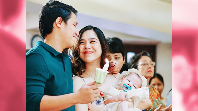 Saab's Baby Pancho Was Baptized At The Hospital After Birth 'Just In Case'