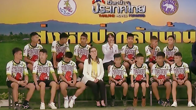 Boys in Thai Cave Confess: 'We Are Sorry for Lying to Our Parents'