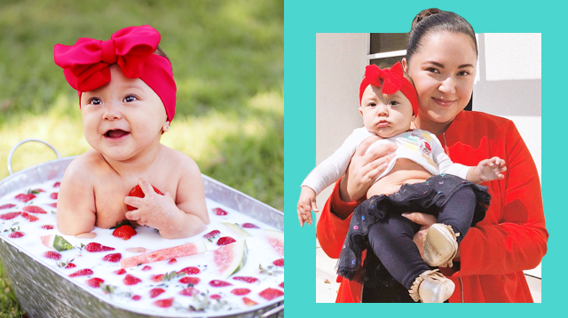 Alyanna Martinez's Daughter Adalyn Marks Her 6th Month In Style