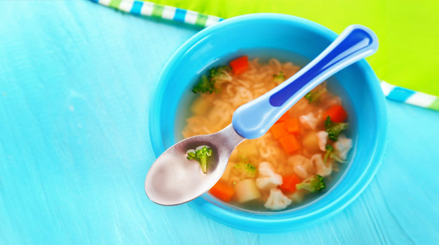 Nutrition Expert Says Try Soup for Your Baby Who's Choosy With Food