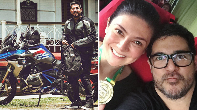 Even Aga Muhlach Has to Ask His Wife for Permission to Ride His Bike