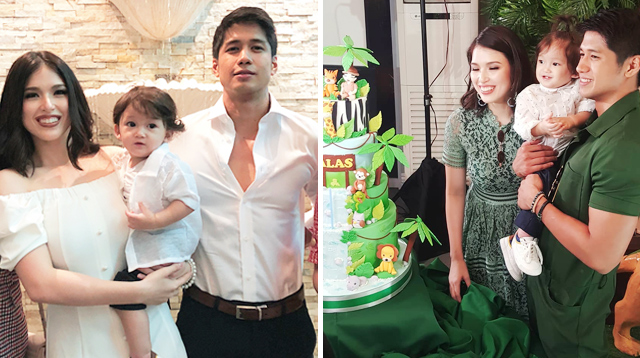 Kylie Padilla's Son Alas Joaquin Christened on First Birthday