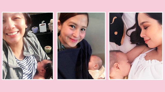 15 Celeb Nursing Moms Who Will Inspire You to Breastfeed