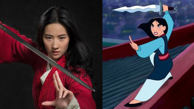 Who Is The Actress Playing Mulan in The Live Action Film?