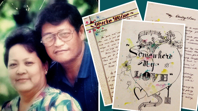 Wife Has Kept Her Husband's Love Letters Since 1964. Awww!