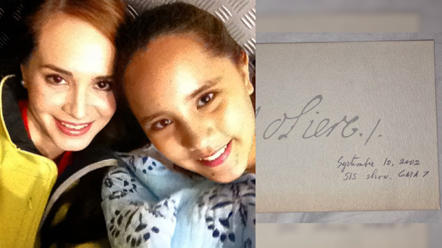 Lucy Torres Gave Juliana Gomez A Letter She Wrote In 2002 For Her 18th Birthday