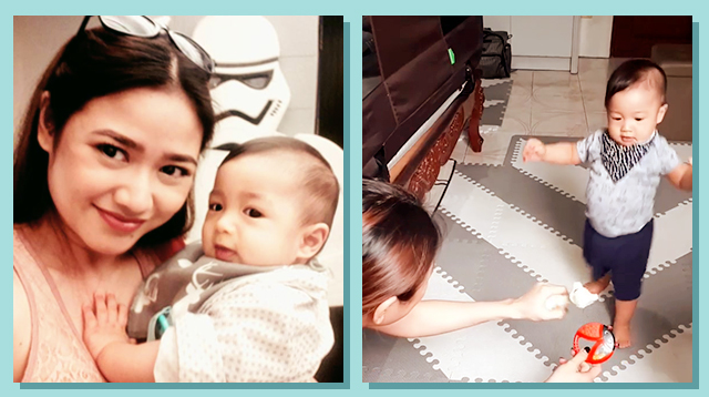 Karen delos Reyes' Proud Mom Moment: Baby Walking at 10 Months