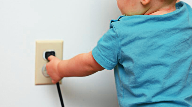 Mom's Childproofing Hack for Power Outlet Involves Baby Wipes!