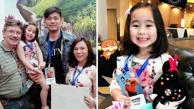 Scarlet Snow Is Your Newest, Youngest Disney Influencer!