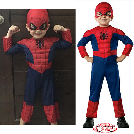 halloween costume spiderman