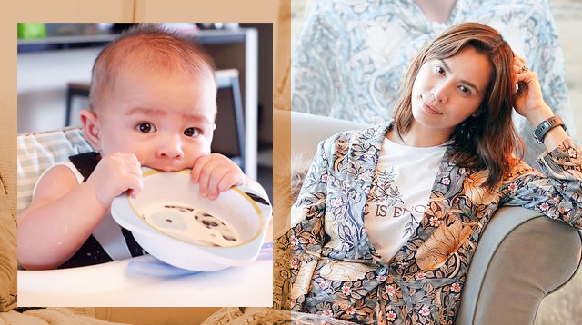Divine Lee Shares Baz's Meal Plan After His First Taste of Solids!
