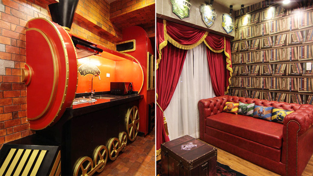 You Can Rent This Harry Potter-Inspired Suite in Tagaytay