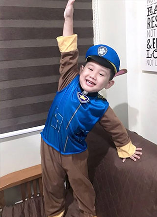 halloween costume paw patrol