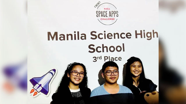 Meet the Filipino Winners of the 2018 NASA Space Apps Challenge