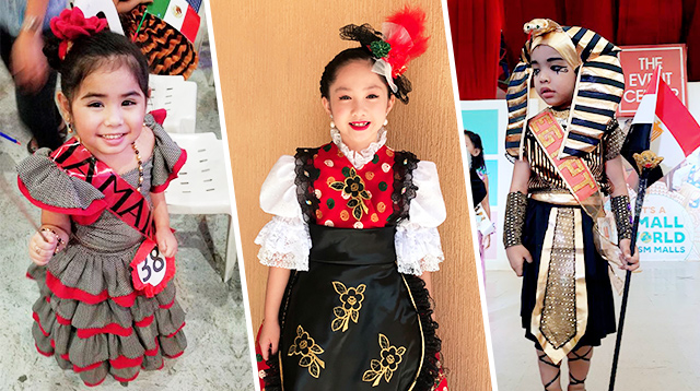 25 United Nations Costumes That Prove Pinoy Parents Are a Creative Bunch!