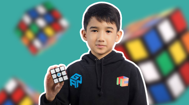 This 11-Year-Old Filipino Can Unscramble a Rubik's Cube in 7 Seconds