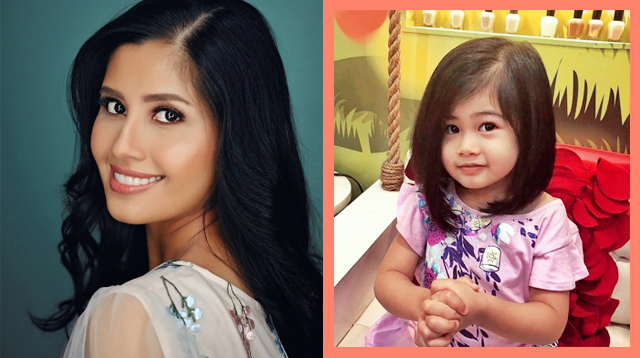 Shamcey Supsup's Daughter Nyke Can Read, Subtract At Only Two Years Old!