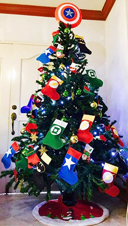 Marvel Christmas Tree Topper.Christmas Tree Images Decorating Ideas From Philippines