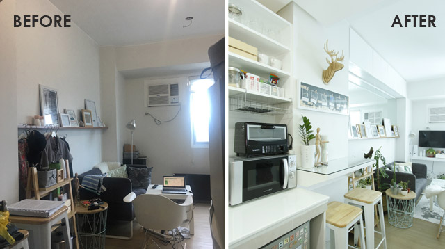 See How The Homeowner Transformed His 20sqm Condo Unit