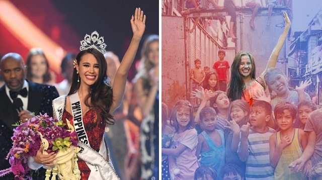 Miss Universe Catriona Gray Helped Build a Preschool for Kids in Tondo