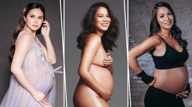 20+ Stunning Celebrity Maternity Photos We Adored This Year!
