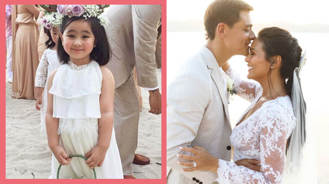 Scarlet Snow, Hunter, and Baz Were All Cuteness at Iza Calzado's Wedding